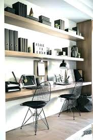 home office wall shelving easy pieces wall mounted shelving systems the organized home pertaining home office