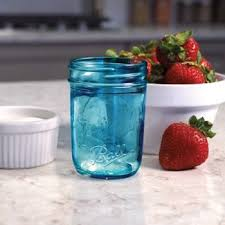 ball 4 oz mason jars. ball® collection elite® regular mouth half-pint 8 oz. blue glass mason ball 4 oz jars b
