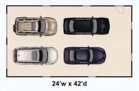 Plans First Floor Single Double Dimensions Door Double Single Car 4 Car Garage Size