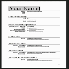 cv format word doc professional resume templates word and professional cv format doc