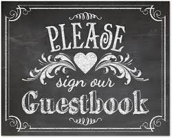 guest book template free vintage chalkboard guestbook sign template downloadble stationery 35608