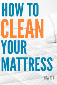 stained mattress. How To Clean A Mattress - Get Rid Of Urine, Blood, Pet And Other Stained