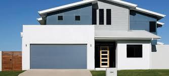 flush panel garage doorThick Flush Panel Garage Doors