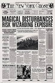 Harry Potter Newspaper Template Harry Potter Newspaper Template Magdalene Project Org