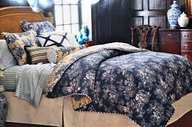 toile bedspread image of navy blue bedding red toile quilt set