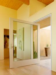 Posts And Reflections On Pivot Doors - Exterior pivot door
