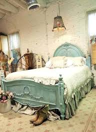 shabby chic bed frame painted wooden bed frame shabby chic bed frames