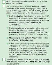 Tsi Score Chart Acc Dual Enrollment Dual Credit