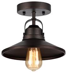 chloe lighting ironclad rubbed bronze semi flush ceiling fixture 9 shade