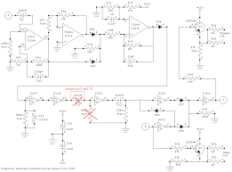 analog synth keyboard schematic analog synthesizer keyboard circuit page 2 by ray wilson 11