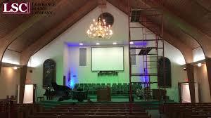 Church Lighting Hillcrest Baptist Church Lighting Upgrade