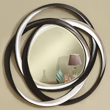 coaster accent mirrors twotone contemporary mirror  prime