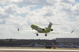 general dynamics gulfstream flies second g600 test aircraft