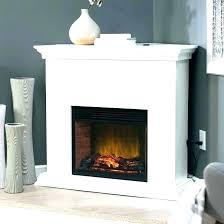 electric fireplace black small corner electric fireplace s small black corner electric fireplace chimneyfree media mantel