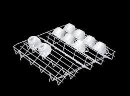 Plastic Coating For Dishwasher Rack Miele E 100 Lower basket insert plastic coated 47