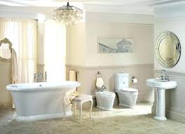 beautiful bathroom crystal chandeliers