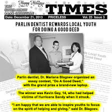 parlin dentist rewards local youth for doing a good deed dentist parlin dentist rewards local youth for doing a good deed