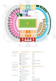 Neyland Stadium Seating Chart 2018 29 Faithful Blank Stadium Map