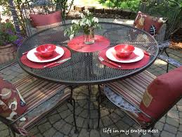 painting wrought iron furniture. Painting Wrought Iron Furniture E