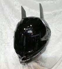 the new batman arkham knight motorcycle helmet with glowing eyes