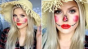 cute scarecrow makeup simple