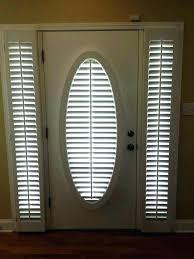 door sidelight blinds front door sidelight blind half glass curtain blinds for doors with home shutters