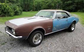 Camaro chevy camaro 1967 : 396/4-Speed: 1967 Chevrolet Camaro SS