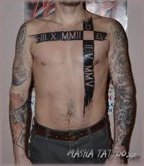 Tetování Datum Tetování Tattoo