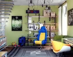 Cool Teen Basement Bedroom