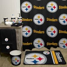 Steelers Bedroom Nfl Pittsburgh Steelers Decorative Bath Collection Shower