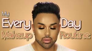 my every day makeup routine mac daddyy angel merino