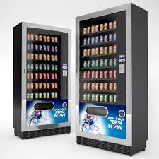Vending Machine 3d Model Cool Beverage Vending Machines 48D Model In Beverage 48DExport