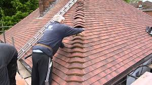 re roofing my your house cementing the bonnet tiles gare co uk roof you