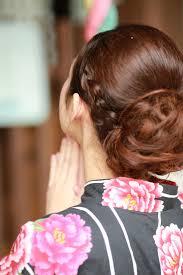 浴衣の髪型はシンプルが可愛い飾りなしのアップや編み込みを紹介