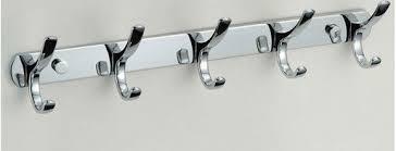 Coat Rack Chrome Free ShippingBrass hooksclothes hangercoat rackChrome toilet 36