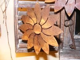 Die Moderne Wohnedeko Blume Aus Metall In Zwei Größen Hängedeko