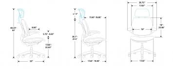 inspirational standard desk chair height 38 in cushion for office within standard office chair dimensions