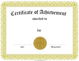 Formal Certificates Template Leadership Certificate Template Achievement Formal Award