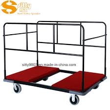 china hotel banquet facility round table trolley cart sitty 99 7601 china table trolley cart banquet table trolley