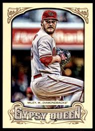 2014 Topps Gypsy Queen Wade Miley #245 on Kronozio