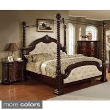 california king canopy bed. Exellent King Furniture Of America Kassania Luxury 3piece Poster Canopy Bed Set Inside California King N