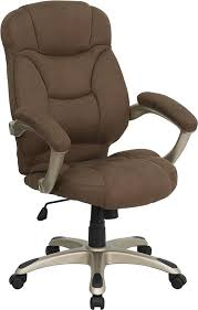 cloth office chairs. Brilliant Office Brown Microfiber Fabric Office Chair For Cloth Chairs F
