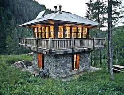 small stone house plans majestic design tiny stone house plans old ranger station converted into this small stone house plans
