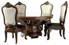 6 seater round dining table 6 piece dining table set melange 6 piece round dining table