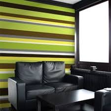 Olivia lime green/ chocolate brown stripe wallpaper e40904 | Brown striped  wallpaper, Striped wallpaper and Wallpaper