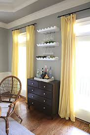 dining room curtains pinner says i love the wine rack wine glass storage