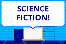 Conceptual Hand Writing Showing Science Fiction Concept Meaning