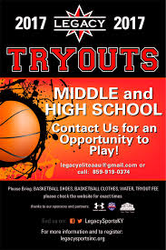 youth select basketball tryout flyers tryouts legacy sports