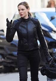 girls black motorcycle jacket