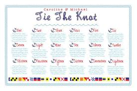 The Knot Wedding Seating Chart